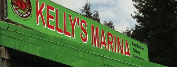 Kelly's Brighton Marina is one of Portland.