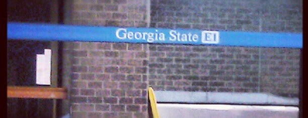 MARTA - Georgia State Station is one of @TimekaWilliams 님이 저장한 장소.
