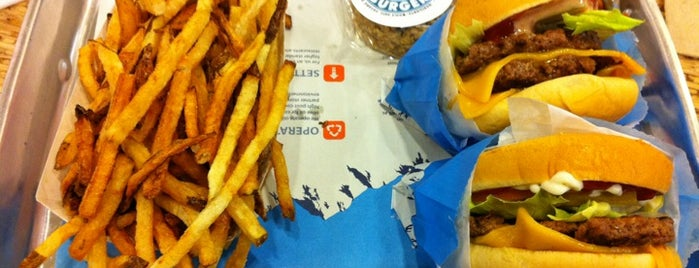 Elevation Burger is one of Burgers.