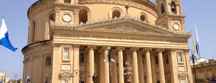 Rotunda of St Marija Assunta (The Mosta Dome) is one of VISITAR Malta.