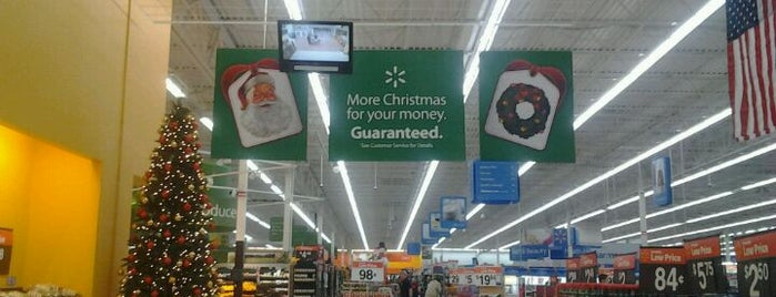 Walmart Supercenter is one of Places With Mostly Bad Reviews.