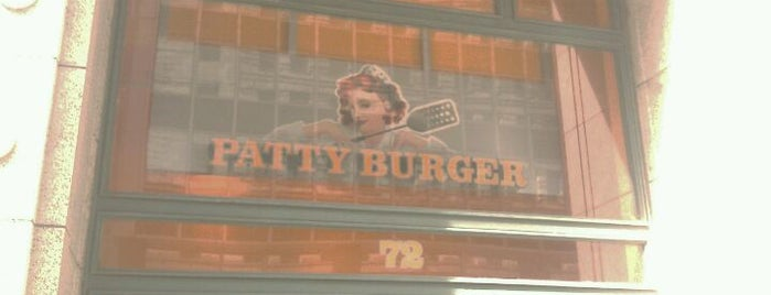 Patty Burger is one of Foods.