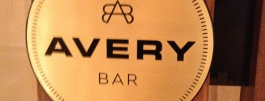Avery Bar is one of Best places to eat & drink in Boston.