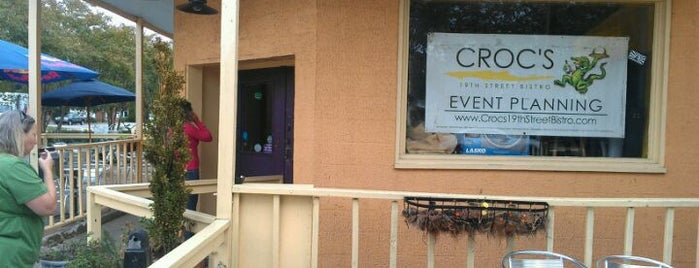 Croc's 19th Street Bistro is one of Locavore Tour.