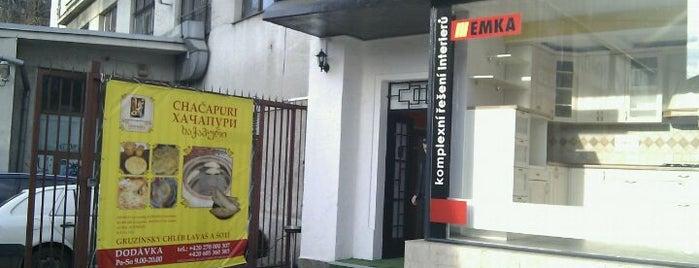 Gruzínské pekařství is one of Jenda: сохраненные места.