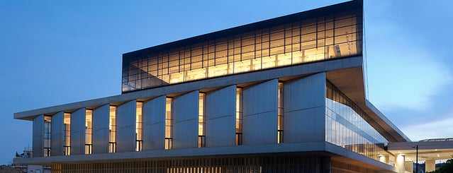 Acropolis Museum is one of Grecia.