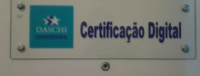 Daschi Certificação Digital - Tijuca - RJ is one of Placês to kill backered.