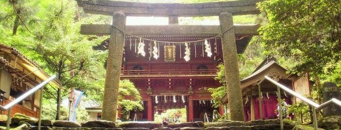 花園神社 is one of 茨城県北ジオパークのジオサイト.