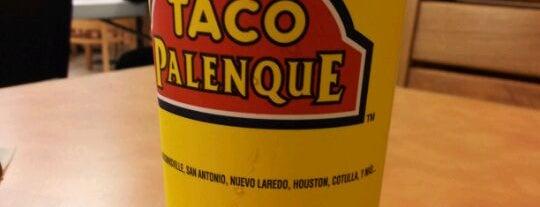 Taco Palenque is one of Mis lugares favoritos para comer.
