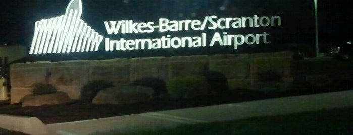 Wilkes-Barre/Scranton International Airport (AVP) is one of Airports been to.