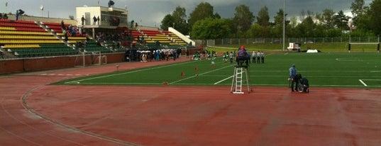 Стадион Чайка is one of Artem : понравившиеся места.