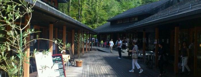 Harunire Terrace is one of Karuizawa.