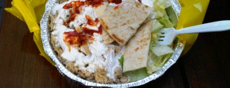 The Halal Guys is one of NY FOOD.
