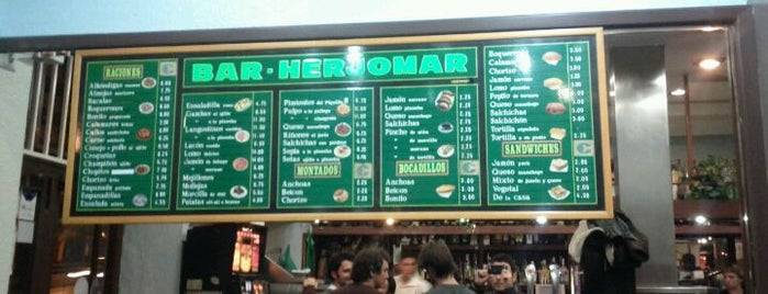 Herjomar is one of Mis bares favoritos de Madrid.