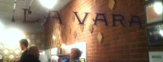 La Vara is one of New restos.
