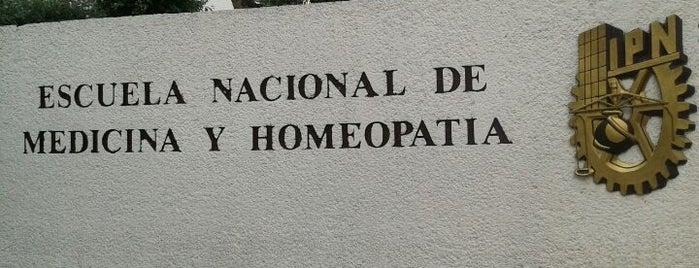 Escuela Nacional de Medicina y Homeopatía is one of Lugares favoritos de Islas.