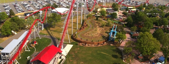 Carowinds is one of Best Places to Check out in United States Pt 1.