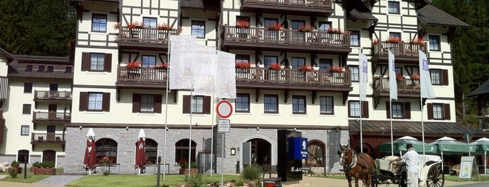 Hotel Savoy is one of Špindl.