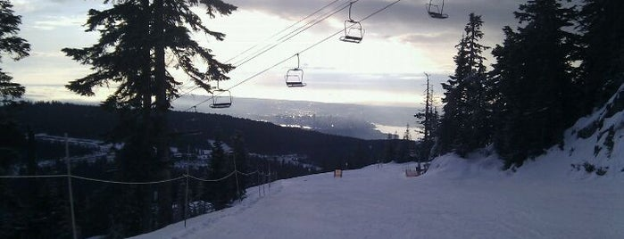 Cypress Mountain is one of BC Ski Resorts.