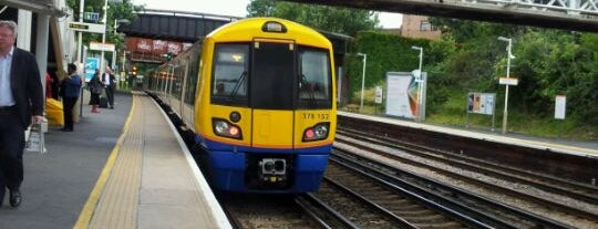 Brockley London Overground Station is one of Транспорт.