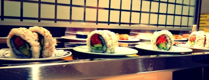 Kulu Kulu Sushi is one of Japan in London.