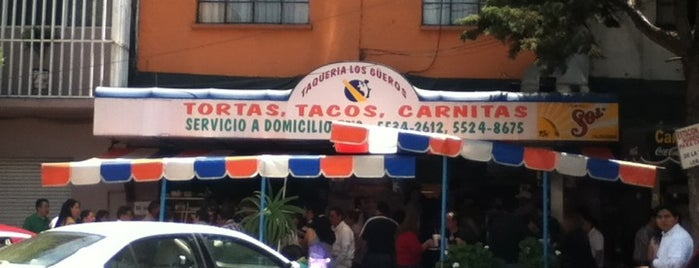 Taqueria Los Güeros is one of Locais curtidos por Hilda.