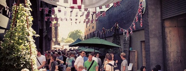 Maltby Street Market is one of South Of The River.