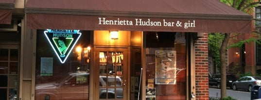 Henrietta Hudson Bar & Girl is one of NYC Queer Bars!.