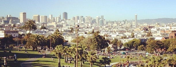Mission Dolores Park is one of The Mission, San Francisco.