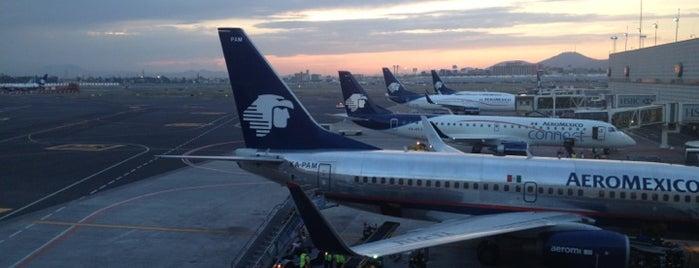 Aeropuerto Internacional de la Ciudad de México (MEX) is one of AIRPORT.