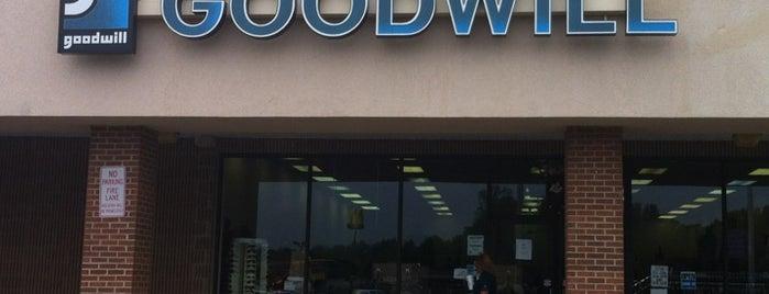 Goodwill is one of Tour de Thrift: Danville-Lynchburg.