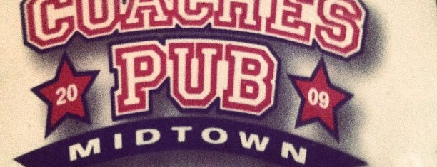 Coaches Pub is one of Top Houston Burger Bars.