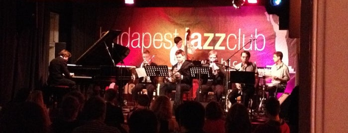 Budapest Jazz Club is one of Locais curtidos por Zsuzsanna.