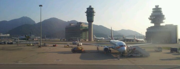 Hong Kong International Airport (HKG) is one of World Airports.