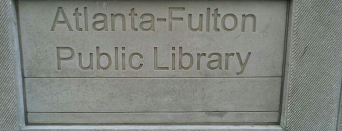 Atlanta Fulton Public Library - Central is one of Gone With the Wind.