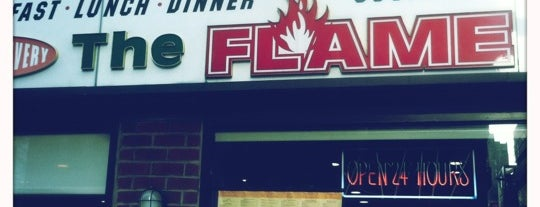 The Flame Restaurant is one of Best Hell's Kitchen Diners.