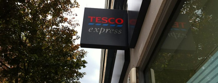 Tesco Express is one of London Town.