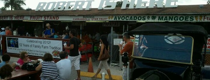 Robert Is Here Fruit Stand & Farm is one of Best South Florida Restaurants- Vegetarian Options.