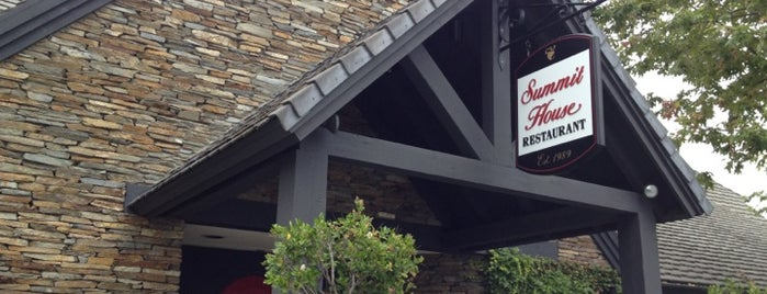 Summit House Restaurant is one of Places to eat in SoCal.