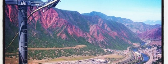 Glenwood Springs, CO is one of I-70.