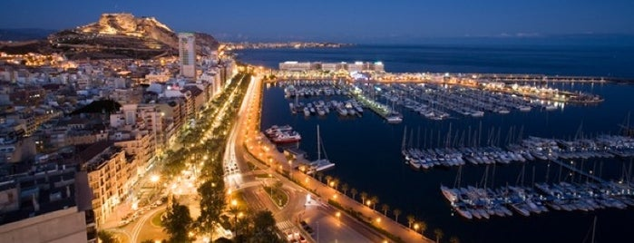 Puerto de Alicante is one of My Alicante.