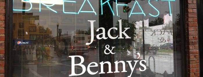 Jack & Benny's is one of Katie 님이 저장한 장소.