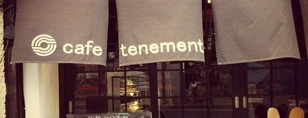 cafe tenement is one of Lugares guardados de Tomoyuki.