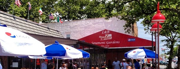 L&B Spumoni Gardens is one of NYC Restaurants.