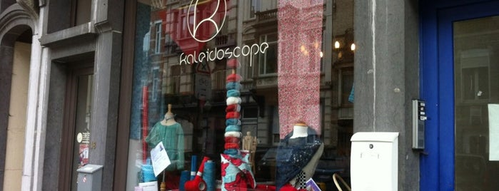 Kaleidoscope is one of Tricoter et broder à Bruxelles.
