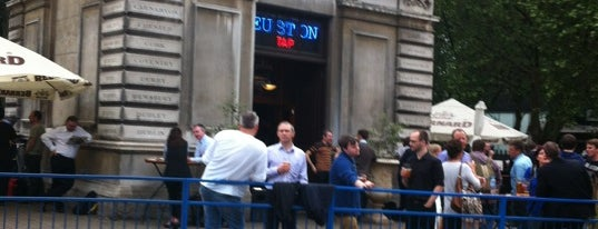 The Euston Tap is one of London's Best for Beer.