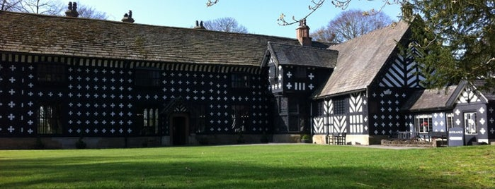Samlesbury Hall is one of Paranormal Sights.