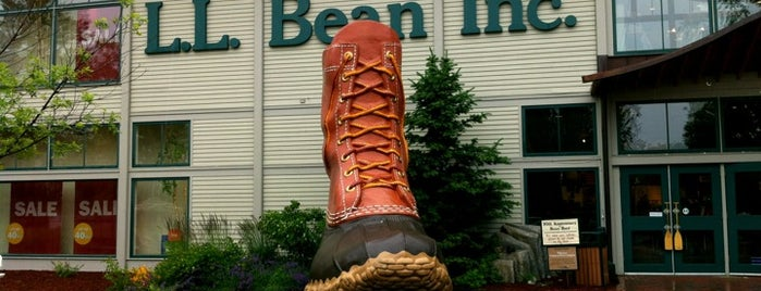 L.L.Bean Inc. is one of Lieux qui ont plu à Marcus.