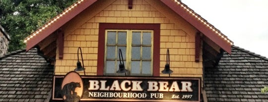 Black Bear Neighbourhood Pub is one of Vern's Saved Places.