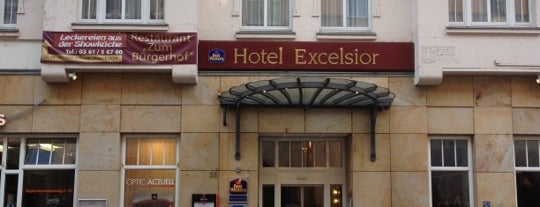 Best Western Plus Hotel Excelsior is one of Thuringian Forest.